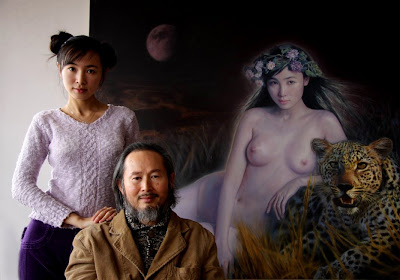 李壮平:东方神女 Li Zhuang Ping : Nude Goddess of the East