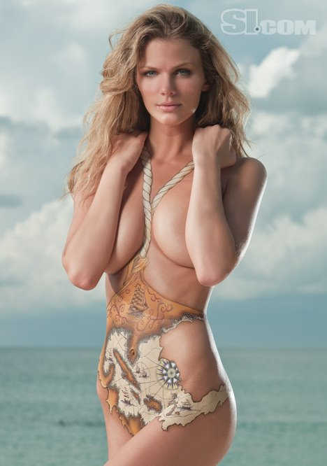 Body Painting Sports Illustrated