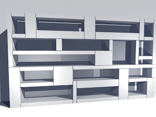 Rinette marc 3d model van woonkamerkast for 3d woonkamer maken