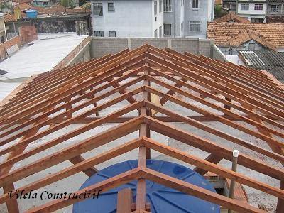 Como fazer um oitao para telhado