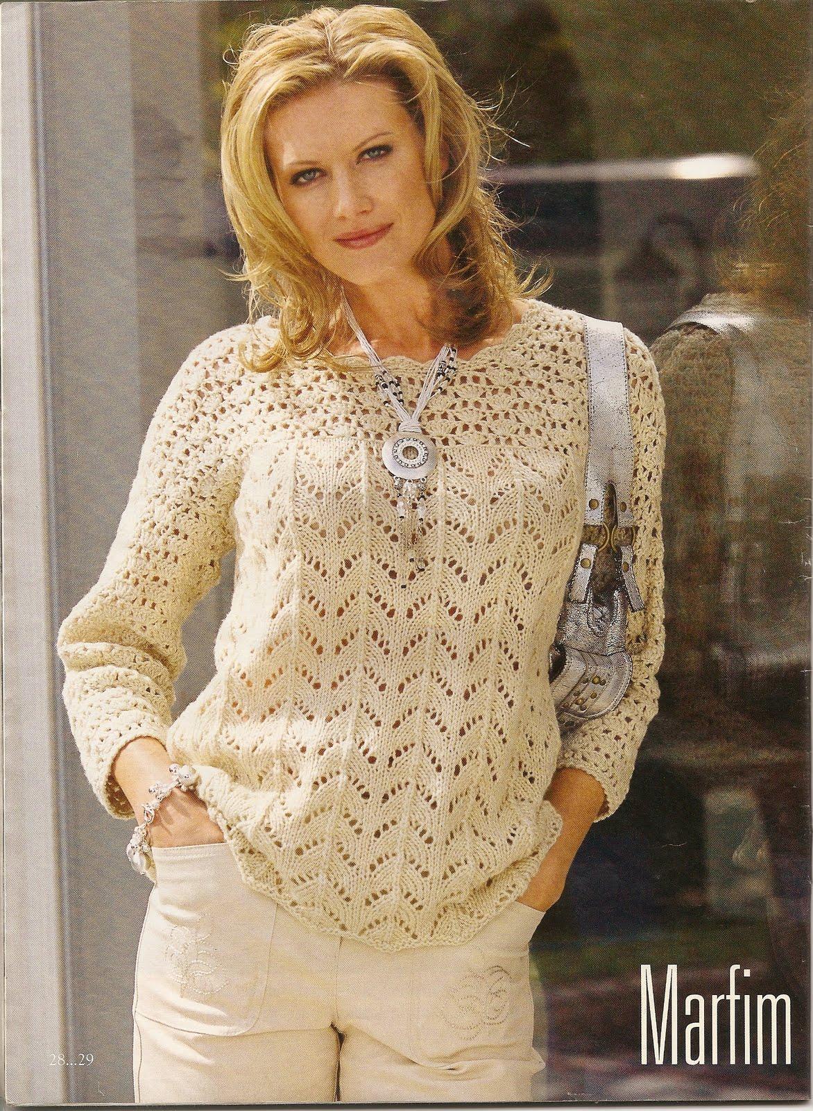 Blusas De Croche Com Graficos