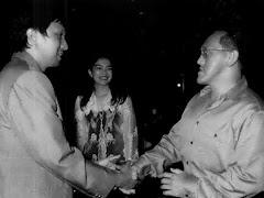 Ketua Umum Golkar Ical Bakrie & Ikang Fawzi Kader PAN