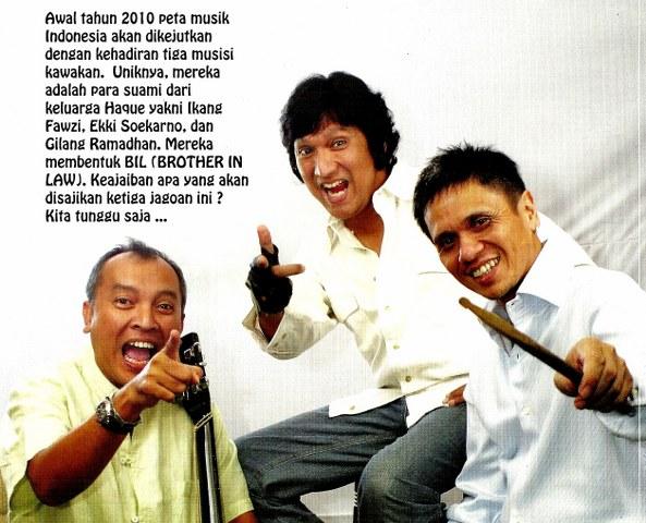 Ikang Fawzi, Ekki Soekarno, dan Gilang Ramadhan