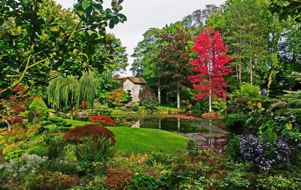 Charmes m connus du hurepoix courances nouvelles for Jardin japonais yvelines