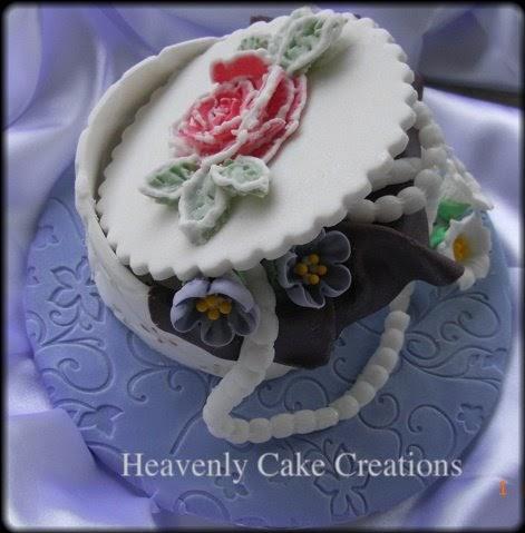 Cake Decor Ltd Company Check : Heavenly Cake Creations: Trinket Box with Jewelries