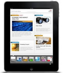 iTunes - Citi Private Bank Mobile on iPad