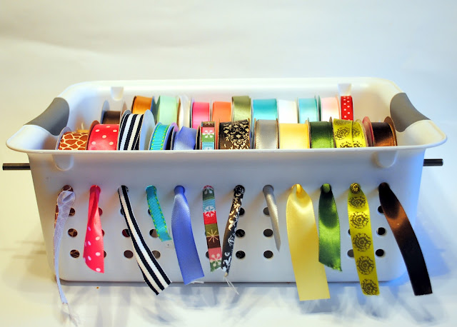 $5 dollar ribbon organizer