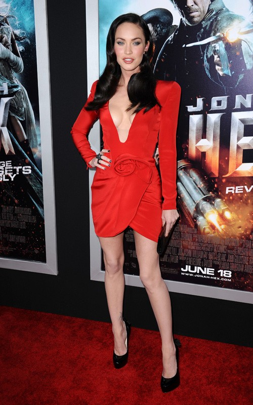 "Megan Fox in June of 2010 arriving for the premiere of ""Jonah Hex"" in Los"
