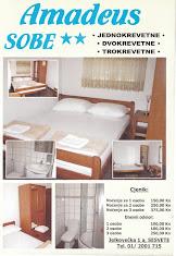 Amadeus Sobe | Sesvete