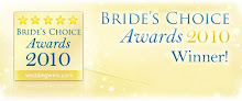 Winner of the Bride's Choice Awards 2010