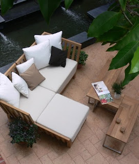 Contemporary  Outdoor Patio Furniture set