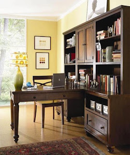 Bergman Furniture-Modern Wooden Home Office Furniture