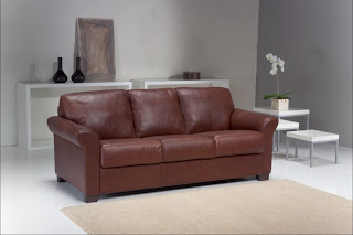 Montana genuine Italian Leather Sofa