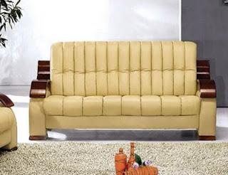 Contemporary Italian Leather Sofa Furniture
