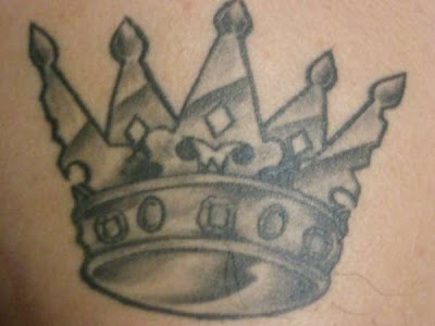 Crown tattoo is a symbol of power, influence and authority and represent the