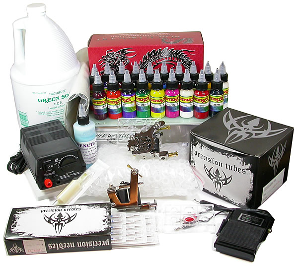 Want to get one glitter tattoo? Just get one glitter temporary tattoo kit at