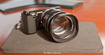 sony nex leica noctilux lens adapter