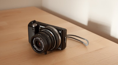 sony nex-5 leica summarit lens adapter