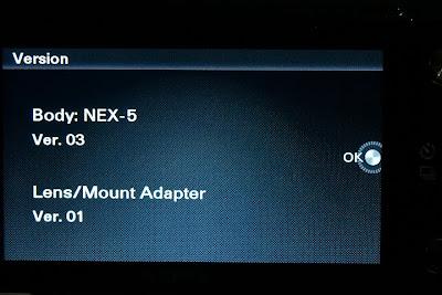 sony nex firmware version 03 download