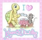 Karen Doodles digiafdrukjes