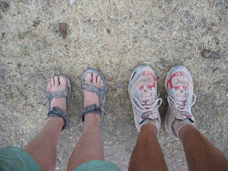 Grand Canyon feet