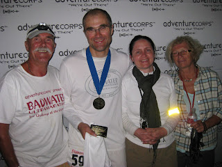 A happy crew at the 2008 Badwater finish.