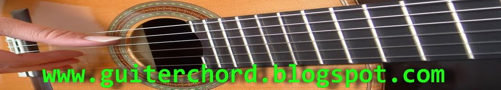 Guiter Chord Guitar Tabs Lyrics