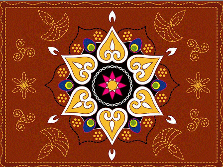 rangoli designs wallpaper stars - photo #19
