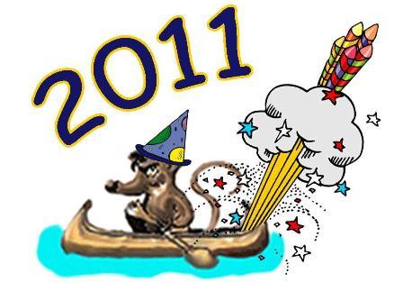 Enjoy the New Year Calendar 2011 for your computer desktop. Nature Scenes