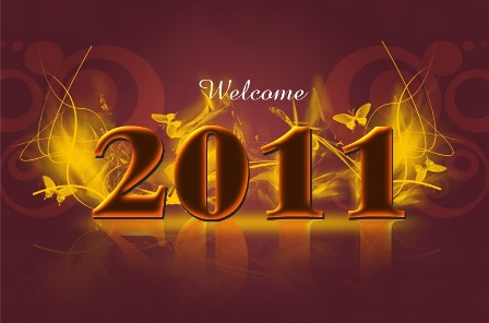 wallpaper new year 2011 picture