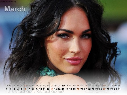 megan fox wallpapers for desktop. Megan Fox Desktop Calendar