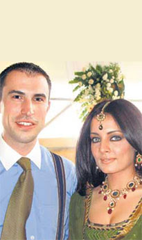 Celina Jaitley Weds Peter Haag