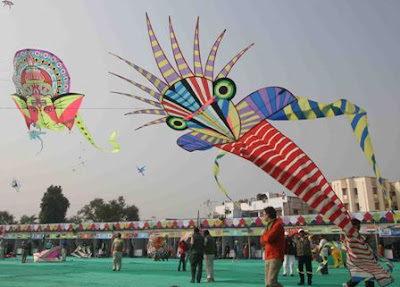 International Kite Festival 2011 Gujarat