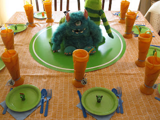 monsters inc party table