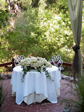 Sweetheart Table on the Creek Side Patio