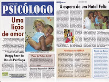 Cintia Liana no Jornal do Psiclogo