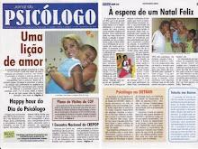 Cintia Liana no Jornal do Psicólogo