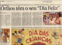 Matéria Jornal A Tarde Dia Feliz 2006