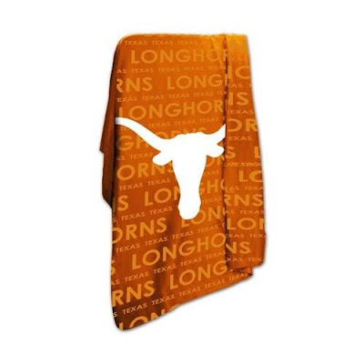 University of Texas Longhorns fleece.