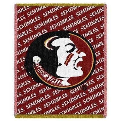 Florida state seminoles throw blanket