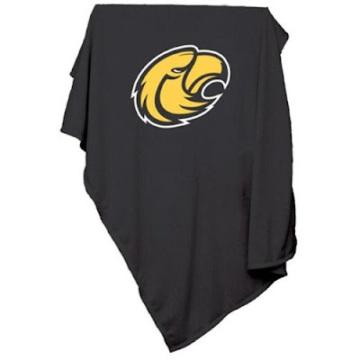 Southern Miss Golden Eagles sweatshirt blanket.
