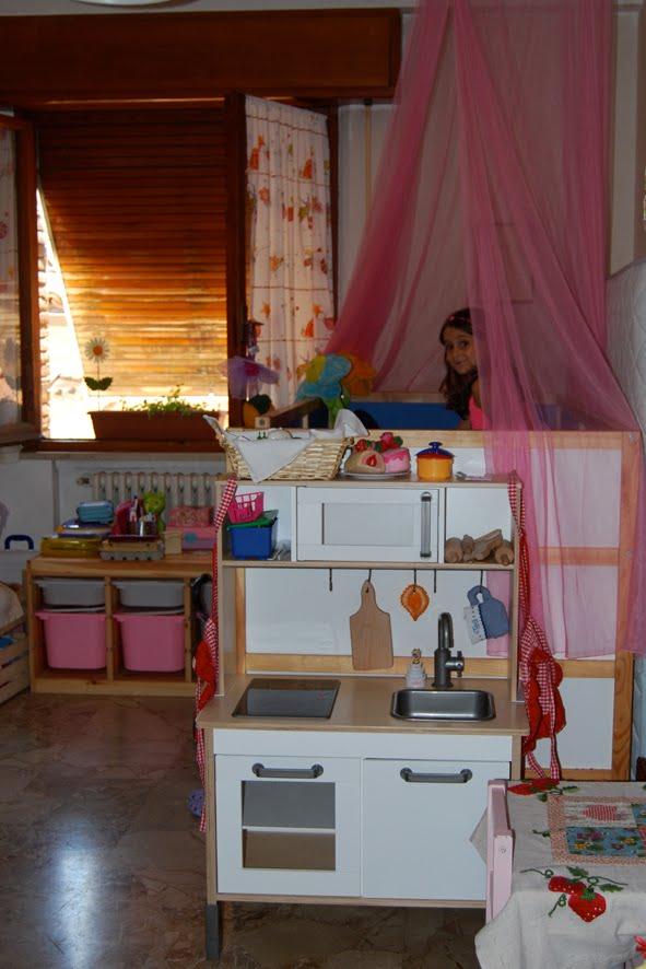 il posto di bianca elena: la felicità negli occhi di una bimba!!! - Cucine Bambini Ikea