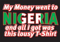Nigerian scam poster