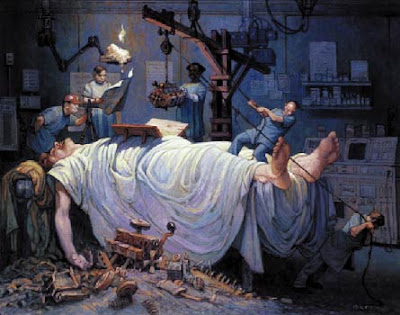The Operating Room, by Jose S. Perez
