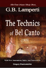 cover The Old Italian School of Singing: Lampertis The Technics of Bel Canto