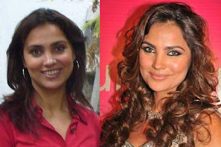 Lara Dutta without makeup
