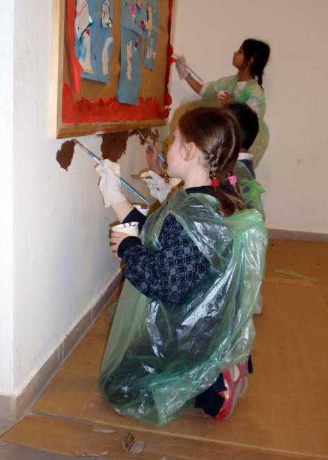 הילדים כחלק חשוב ביצירה