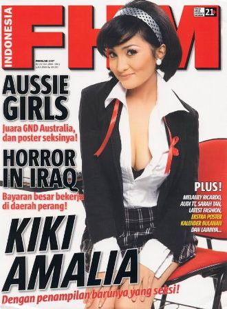 Kiki Amalia, Sexy Hot in FHM Magazine