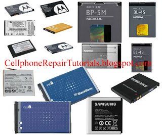 cellphone repair tutorials- battery
