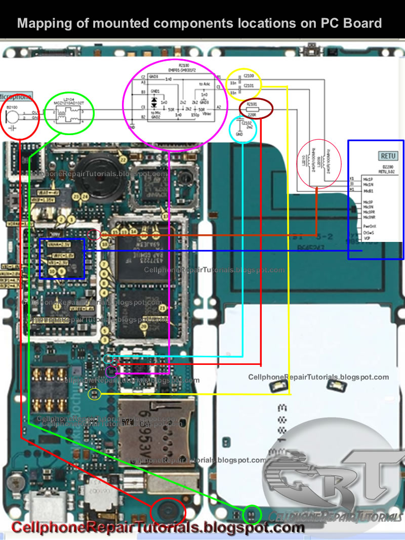 basic mobile phones hardware repair troubleshooting techniques rh cellphonerepairtutorials blogspot com circuit diagram of cell phone charger schematic diagram cell phone charger